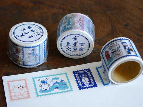 KYUPODO Post Office Masking Tape - 雲上王國