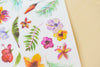 MU Print-On Sticker - Flower Series 53-Tropical Garden