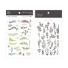 MU Print-On Sticker - Flower Series 55 - Collection Botanical Garden