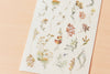 MU Print-On Sticker - Flowers Series 63 - Spice Autumn Leaves