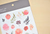 MU Print-On Sticker - Flower Series 70 - Red Orange Orange