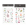 MU Print-On Sticker - Flower Series 72 - Monthly Hundred Flowers