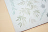 MU Print-On Sticker - Flower Series 74 - Litchi Green Leaves