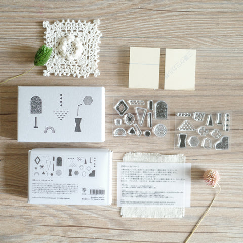 Mizushima - JIZAI Clear Stamp Shapes set 03