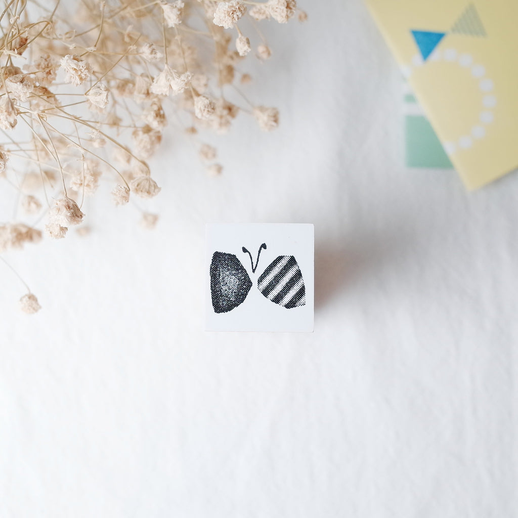 OSCOLABO rubber stamp - Butterfly