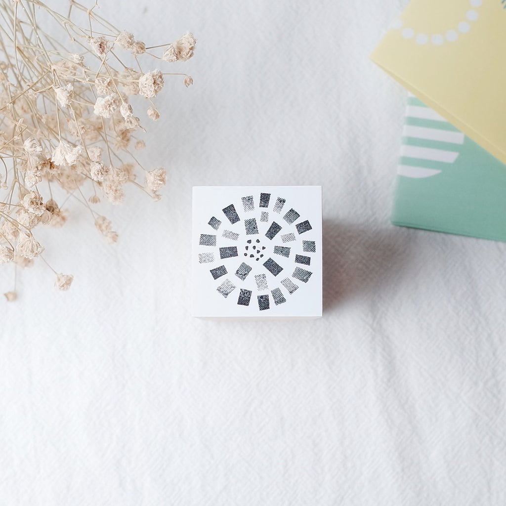 OSCOLABO rubber stamp - Flower