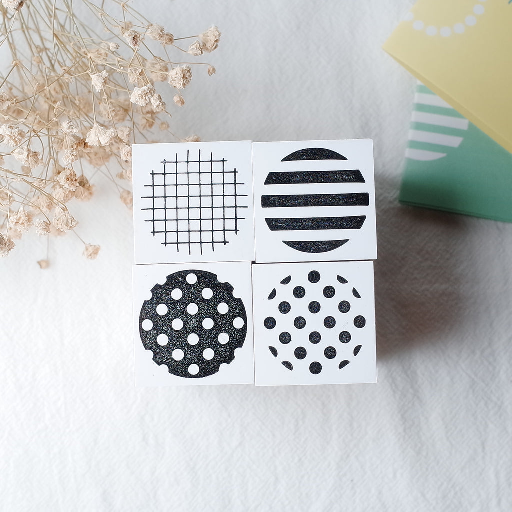 OSCOLABO rubber stamp - Circle (L)