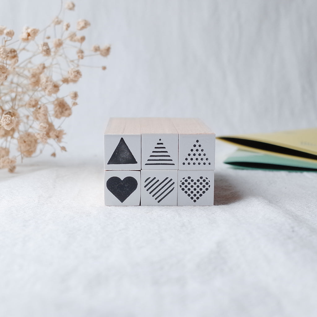 OSCOLABO rubber stamp - Small set