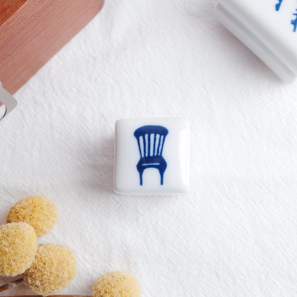 Classiky 倉敷意匠 Porcelain Stamp - Chair