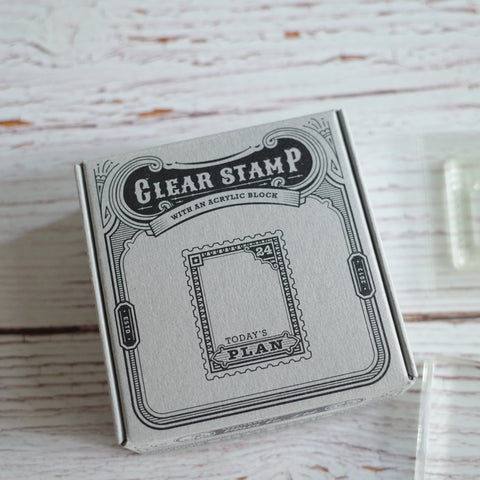 Plain Stationery - Clear stamps