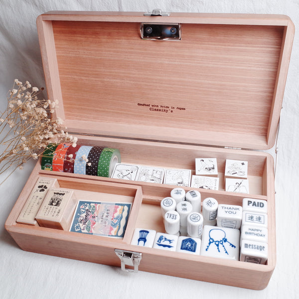 Classiky 倉敷意匠 Wooden Tool Box