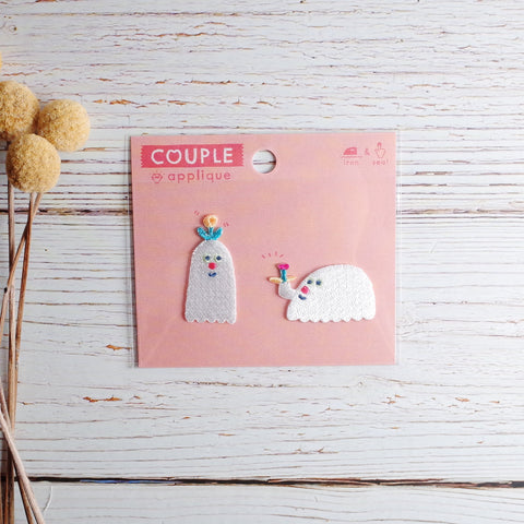 AIUEO - Applique Couple (Ghost combi)