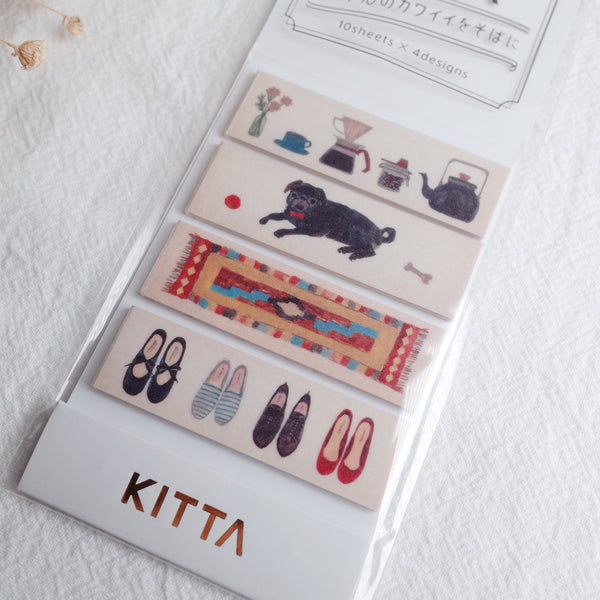 KITTA Washi Tape - Lifestyle (KIT050)