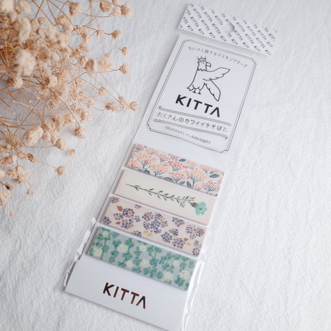 KITTA Washi Tape - Flower4 (KIT049)