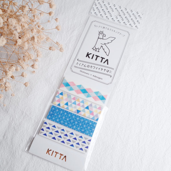 KITTA Washi Tape-Triangle 手帳標籤-三角形