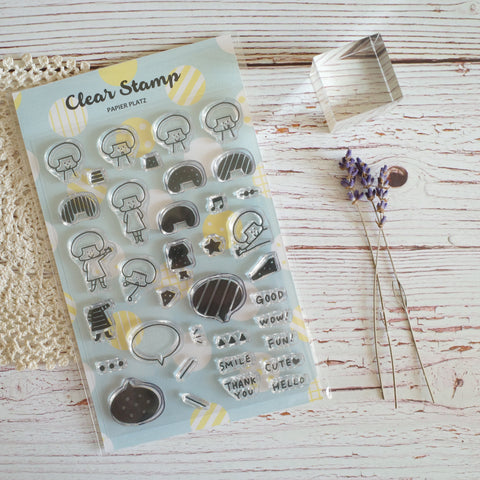 Clear Stamp - Girls