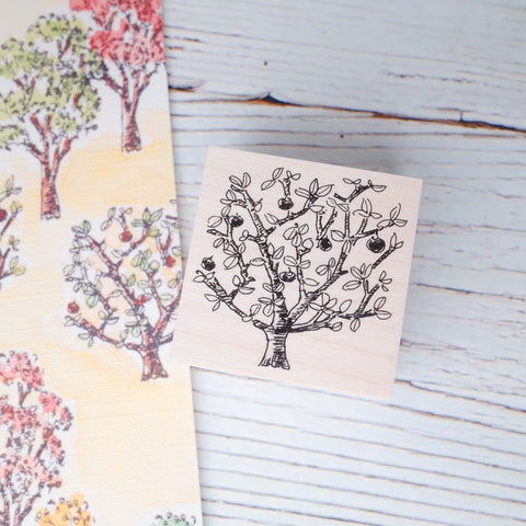 Akamegane stamp - Country series - Fruit Tree