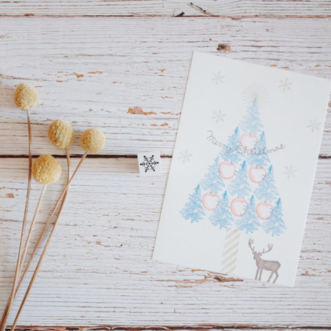 OSCOLABO rubber stamp - Snow crystal 1