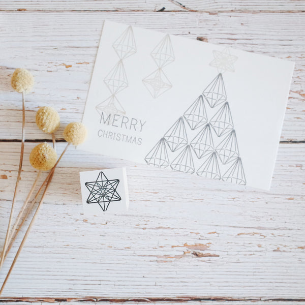 OSCOLABO rubber stamp - Star