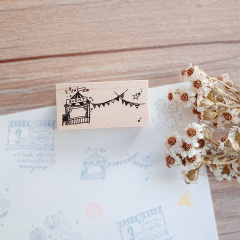 Nonnlala rubber stamp - Event
