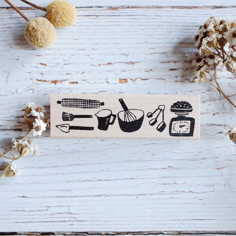 Hankodori stamp - Baking tools