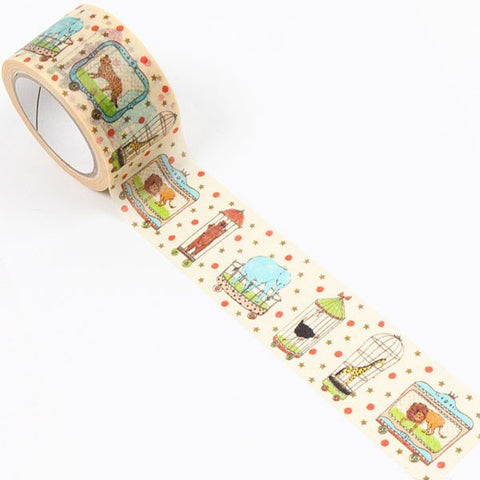 Franchee Lippee masking tape - animal