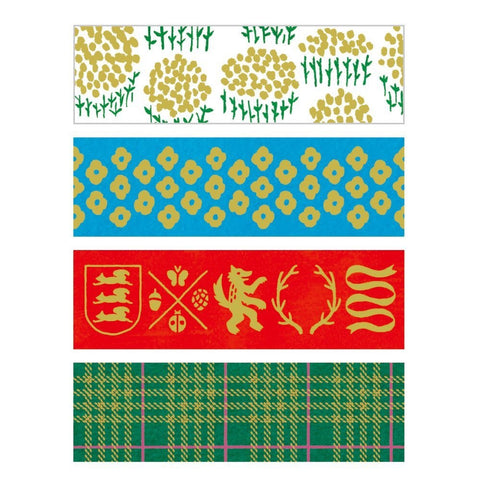 KITTA Washi Tape-Nordic 手帳標籤-英倫 (Pre-order)
