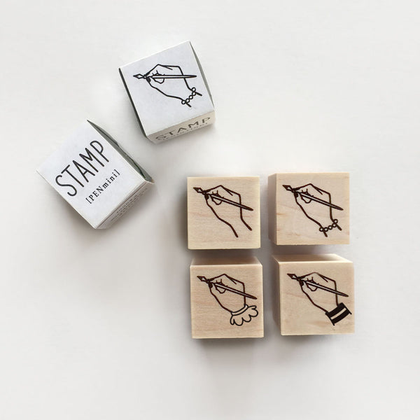 Knoop Rubber Stamp - Mini Pen