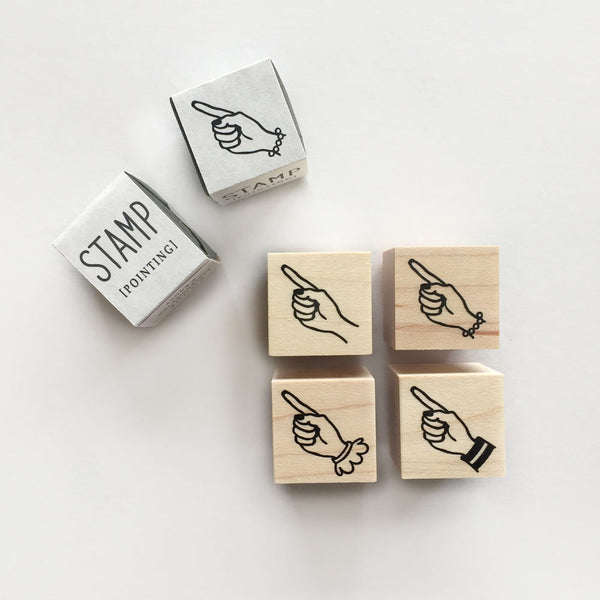 Knoop Rubber Stamp - Mini Point