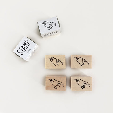 Knoop Rubber Stamp - Mini Sew