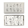 Rakui Hana Number Rubber Stamps of the Circus 馬戲團數字印章