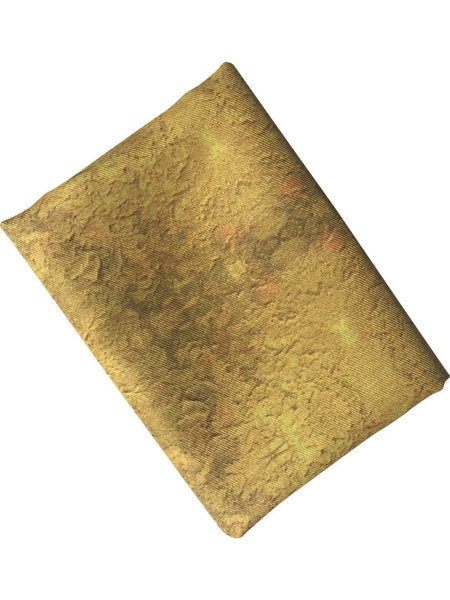 "Pocket Square: ""Color Field: Gold"""