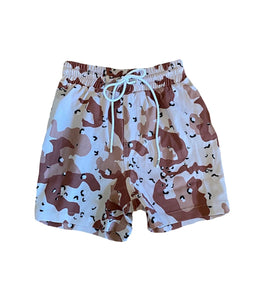Little Ruki Toyota Swim Shorts | Desert Camo