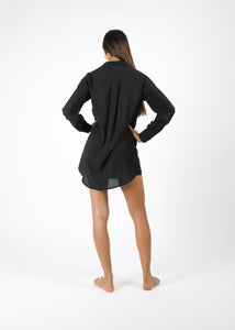 Nirvanic Swim Ibiza Shirt | Black