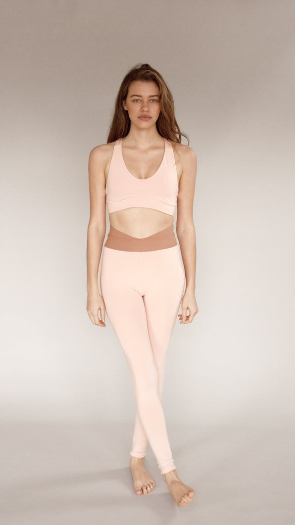 OLYMPIA ACTIVEWEAR JAMES SPORTS BRA | BLUSH