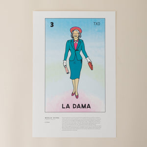 Molly Ivins as La Dama de Lotería - Poster