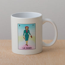 Molly Ivins as La Dama de Lotería  - Coffee Mug