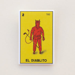 El Diablito Trump Loteria Button