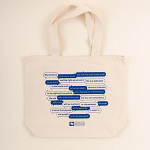 Mission Statement Tote Bag