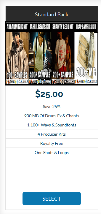 Download 4 Sound Kits And Save 25%