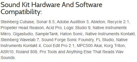 Software & Hardware Compatiblity