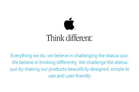 Apple Mission Statement - Ebaqdesign