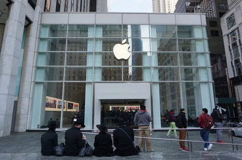 Apple's New York 5th Avenue Store