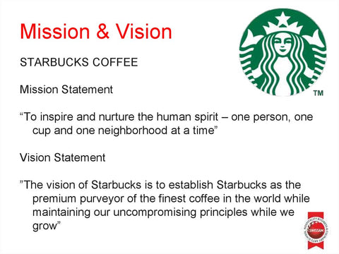 Starbucks Vision-Mission Statement - en.ppt.online.org