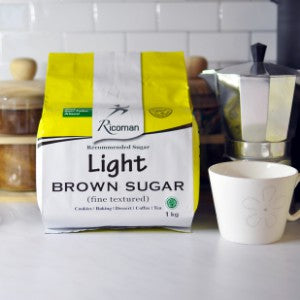 Ricoman Light Brown Sugar - SerataFoods