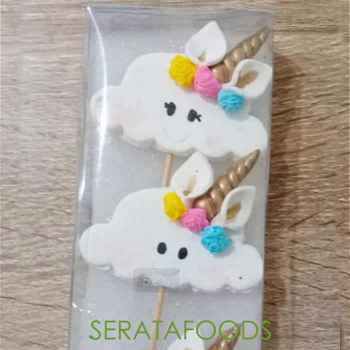 Buona Serata GPU80 Unicorn Cloud Stick Gumpaste Set - SerataFoods