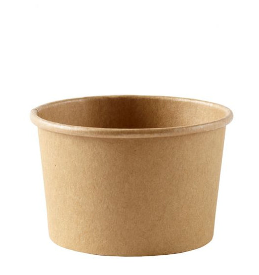 Brown Paper Kraft Cup (tanpa tutup) @ 25 units - SerataFoods