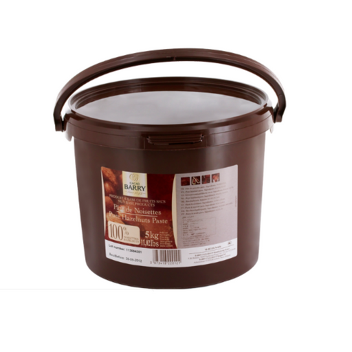 Cacao Barry 154191 Pure Hazelnuts Paste 5kg - SerataFoods
