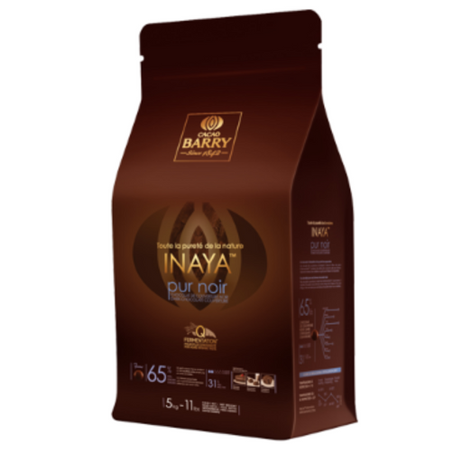 Cacao Barry 160091 Inaya Pur Noir 65% 5kg - SerataFoods