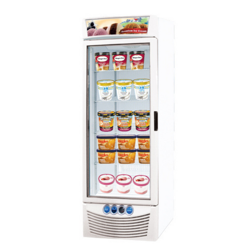 Gea ASIA-45 Tall Ice Cream Display Freezer 397L - SerataFoods